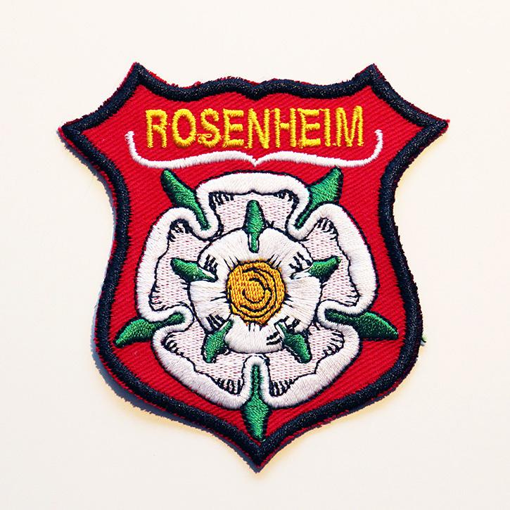 gesticktes Wappen Rosenheim